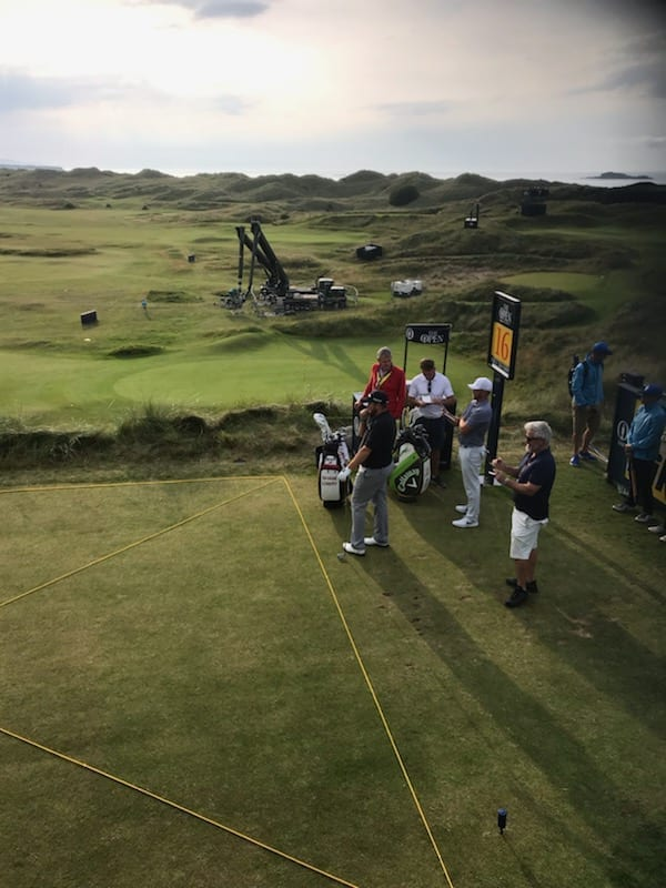 Practice Day at The Open